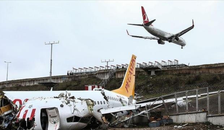 Yolcu uçağının pistten çıkmasına ilişkin kaza raporu tamamlandı