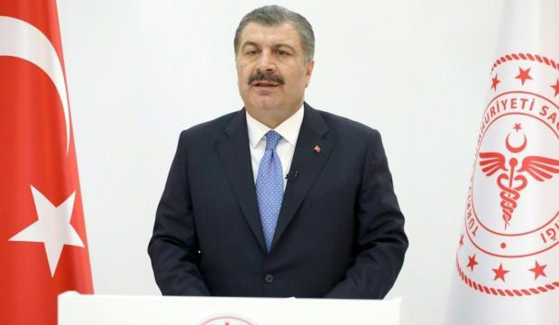 Sağlık Bakanı Fahrettin Koca mavi kategoriye geçen illeri açıkladı