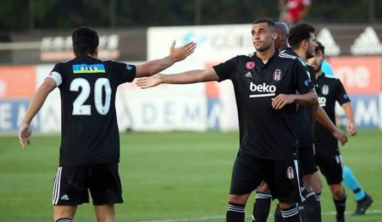 Beşiktaş, Başakşehir'i tek golle geçti!
