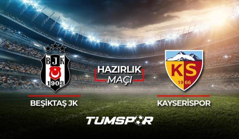 Beşiktaş Kayserispor maçı ne zaman saat kaçta hangi kanalda? BJK Kayseri maçı 11'leri!