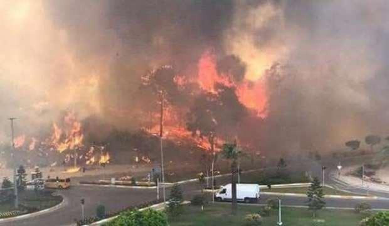 Birgün Gazetesi'nden Türkiye'nin ciğerini yakan yangınlar üzerinden sinsi operasyon!