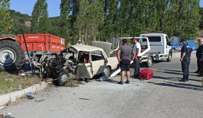 Çorum'daki trafik kazası