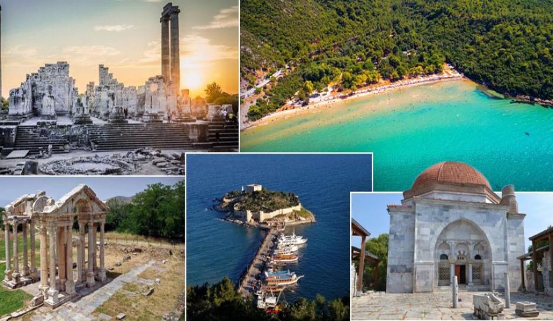Ege'nin cenneti Aydın'da gezilecek yerler   Doğal ve tarihi yerler