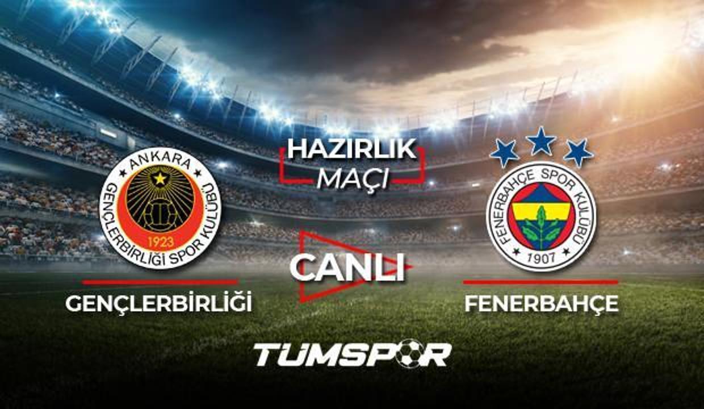 Gençlerbirliği Fenerbahçe maçı canlı izle! Youtube Gençler FB maçı canlı skor takip!