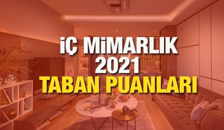 İç Mimarlık taban puanları 2021! Mimarlık bölümü kontenjanları ve başarı sıralamaları
