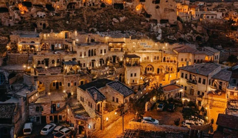 Kapadokya'da 9 otelde aşı kampanyasına destek