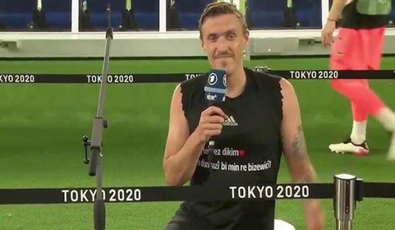 Kruse'den Tokyo 2020'de evlenme teklifi