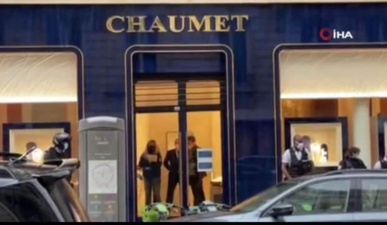 Paris'teki ünlü kuyumcuyu scooterla  soydular: 2 milyon euro'luk mücevher çalındı