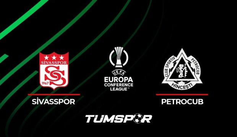 Sivasspor Petrocub maçı ne zaman saat kaçta hangi kanalda? UEFA Sivas Petrocub maçı 11'leri!