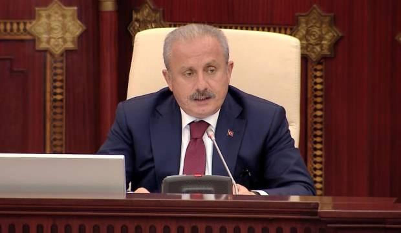 TBMM Başkanı Şentop'tan 'Tunus' açıklaması!