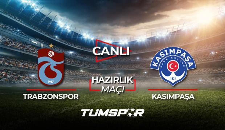 Trabzonspor Kasımpaşa maçı canlı izle! A Spor TS Kasımpaşa maçı canlı skor takip!