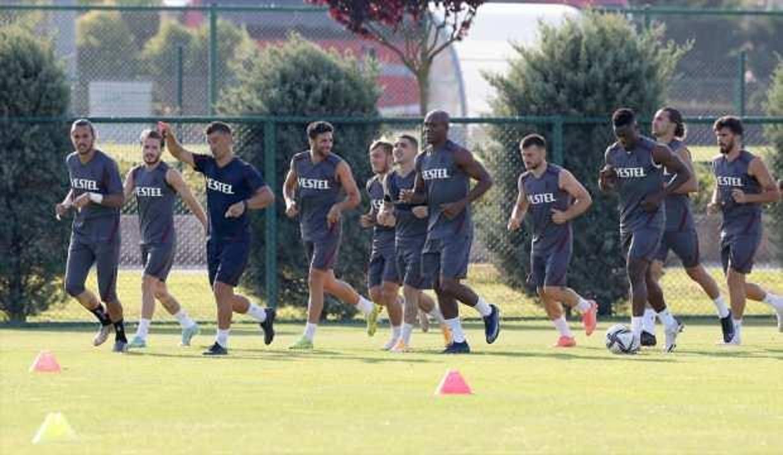 Trabzonspor, Molde maçının hazırlıklarına başladı