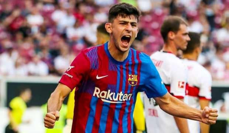 Yusuf Demir, Barcelona formasıyla ilk golünü attı