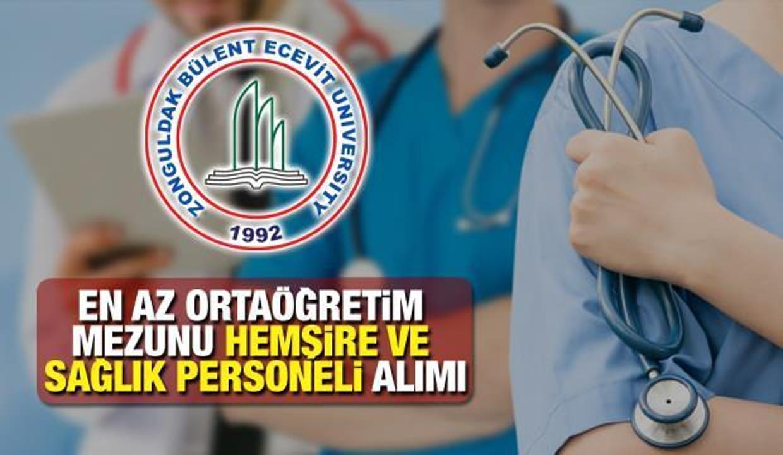 ZBEÜ en az ortaöğretim mezunu sağlık personeli alım ilanı! Sağlık personeli başvuru ekranı