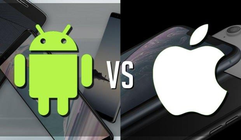 Android işletim sistemi iOS'a %142 fark attı