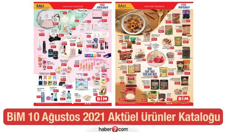BİM 10 Ağustos 2021 Aktüel Ürünler Kataloğu!