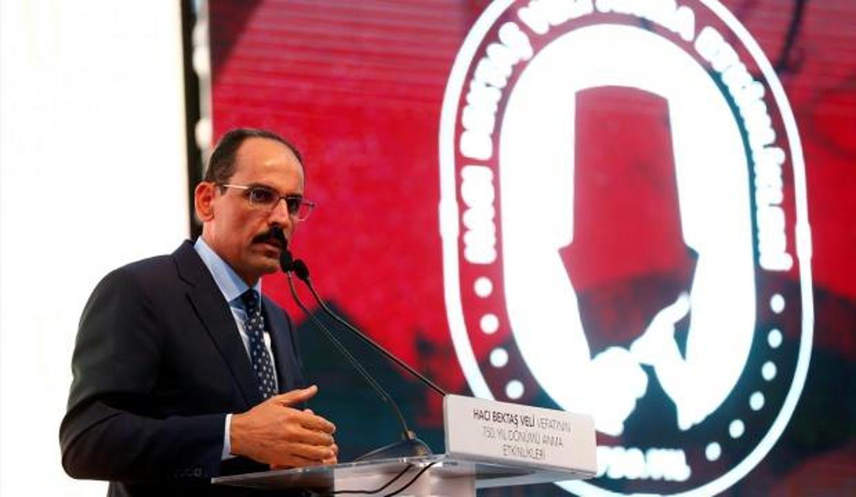 Cumhurbaşkanlığı Sözcüsü Kalın Hacı Bektaşi Veli etkinliklerinde seslendi