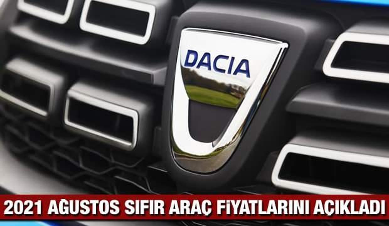 Dacia Ağustos sıfır araç fiyat listesi: Yeni Sandero, Lodgy, Duster, fiyatı listesi