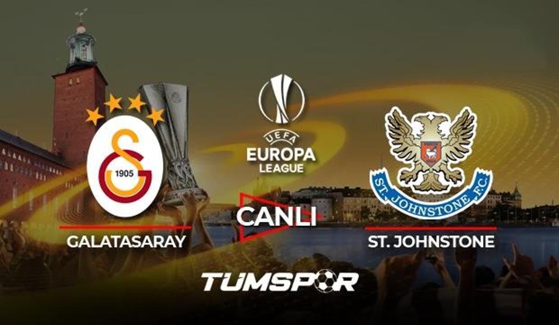 Galatasaray St. Johnstone maçı canlı izle! Spor Smart GS maçı canlı skor takip!