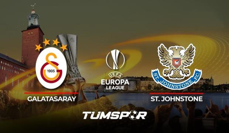 Galatasaray St. Johnstone maçı hangi kanalda? GS maçı şifresiz kanalda mı yayınlanacak?