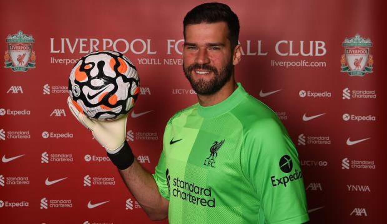 Liverpool'dan Alisson Becker'e yeni sözleşme