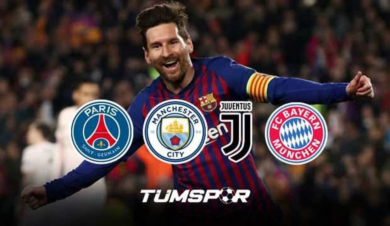 Messi'nin yeni takımı belli oluyor... Dünya yıldızı Barcelona'dan ayrıldı!