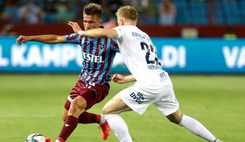 Trabzonspor tur şansını Norveç'e bıraktı!