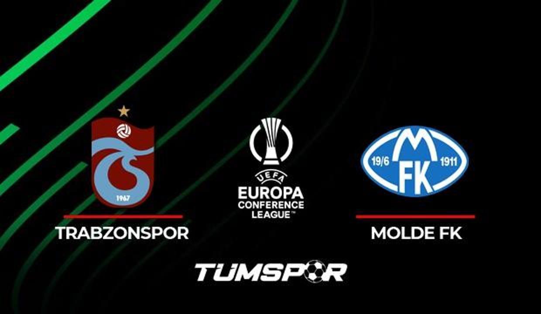 Trabzonspor Molde maçı ne zaman saat kaçta hangi kanalda? İşte TS Molde maçı 11'leri!