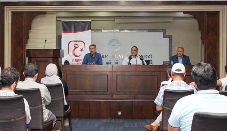 Türkiye'deki Arap derneklerden yangın bölgesine destek