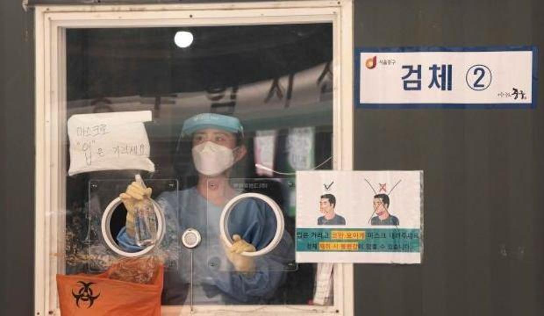 Güney Kore'de günlük vaka sayısında rekor
