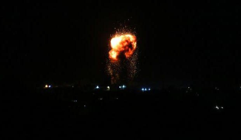 İsrail'den Suriye'de Esed rejimine ait askeri noktalara hava saldırısı