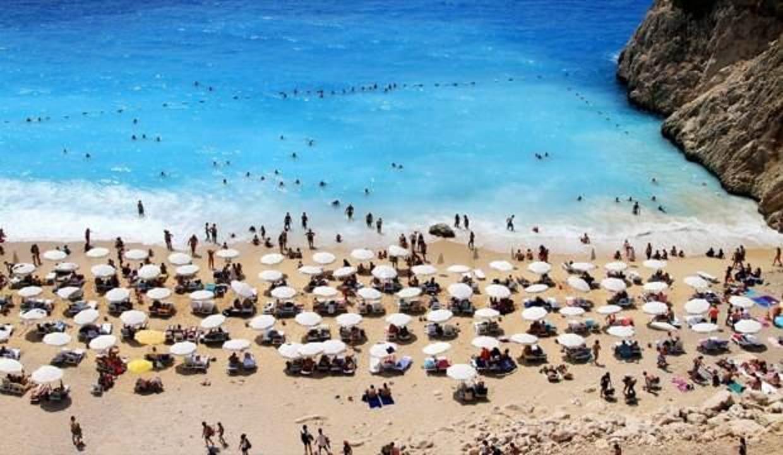 Turist sayısında sert yükseliş