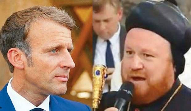 Rahip tokadı! Macron PKK ağzıyla Türkiye'yi suçladı