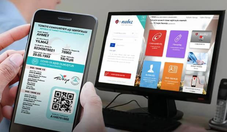 Aşı kartı nasıl alınır? E-Nabız'dan aşı kartı nasıl çıkarılır? İşte Aşı kartı alma ekranı!