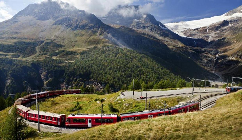 Avrupa'nın muhteşem manzaralara sahip tren rotaları