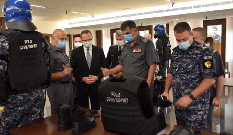 İçişleri Bakanlığı'ndan Lübnan güvenlik güçlerine destek
