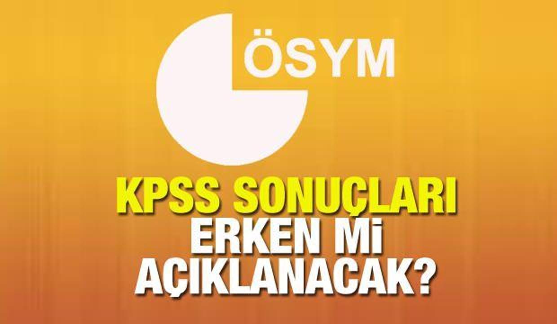 KPSS sonuçları ne zaman açıklanacak? ÖSYM 2021 sınav sonuçları için takvimi paylaşmıştı...
