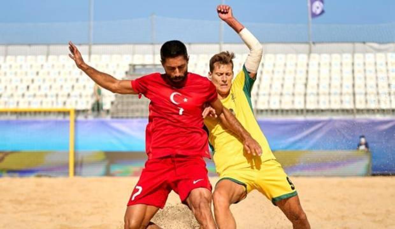 Plaj Futbolu Milli Takımı, Litvanya'ya 3-0 mağlup oldu