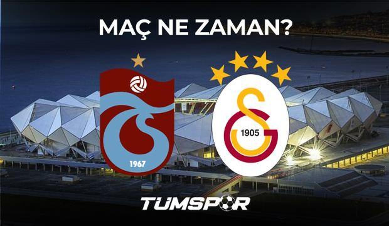 Trabzonspor Galatasaray maçı ne zaman hangi kanalda saat kaçta? TS GS maçı muhtemel 11'leri!