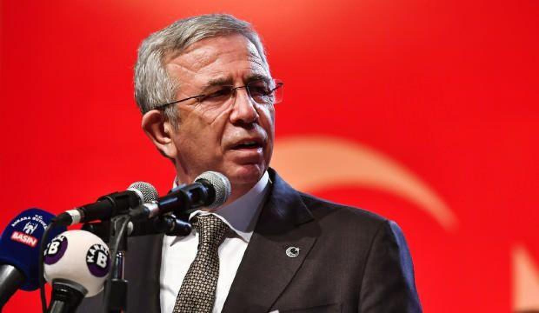Ankara Büyükşehir Belediye Başkanı Mansur Yavaş'a 'ödül' eleştirisi