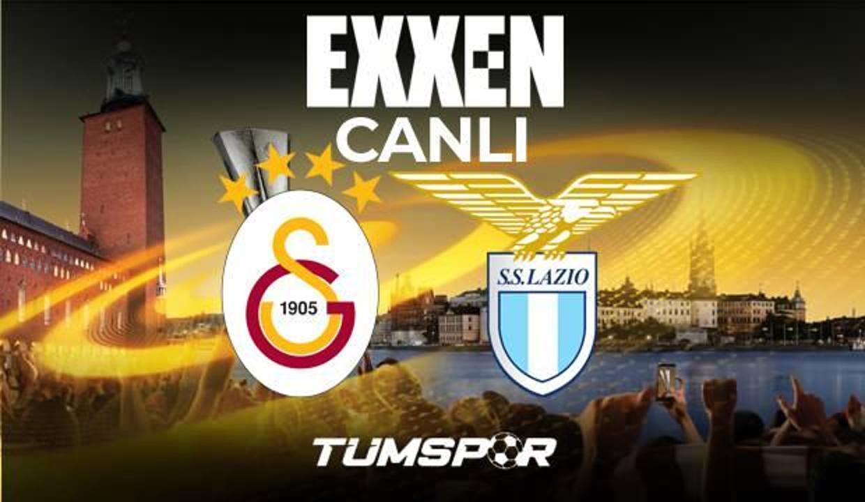 Galatasaray Lazio maçı canlı izle! Şampiyonlar Ligi Exxen GS Lazio maçı canlı skor takip