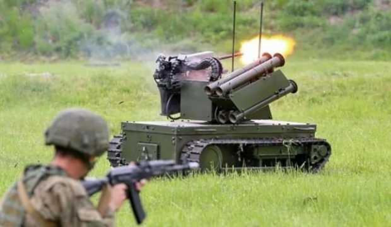Rusya saldırı robotlarını ilk kez kullandı