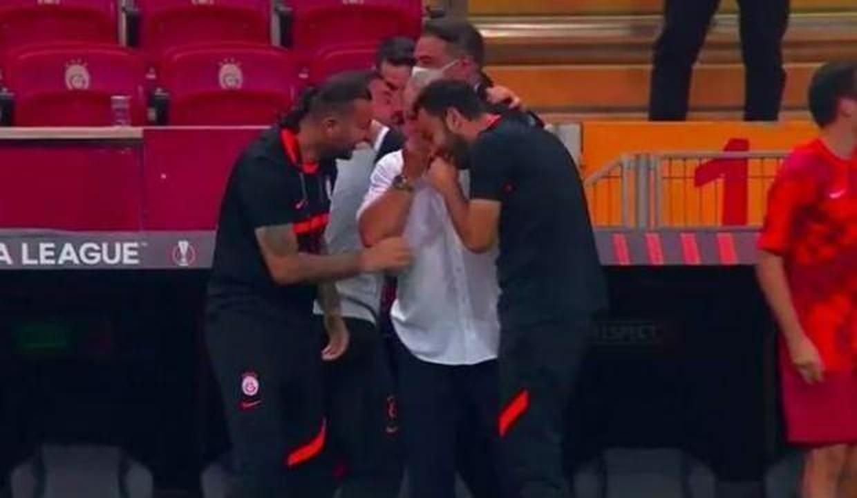 Terim'in gol sevinci İtalya'da gündem oldu!