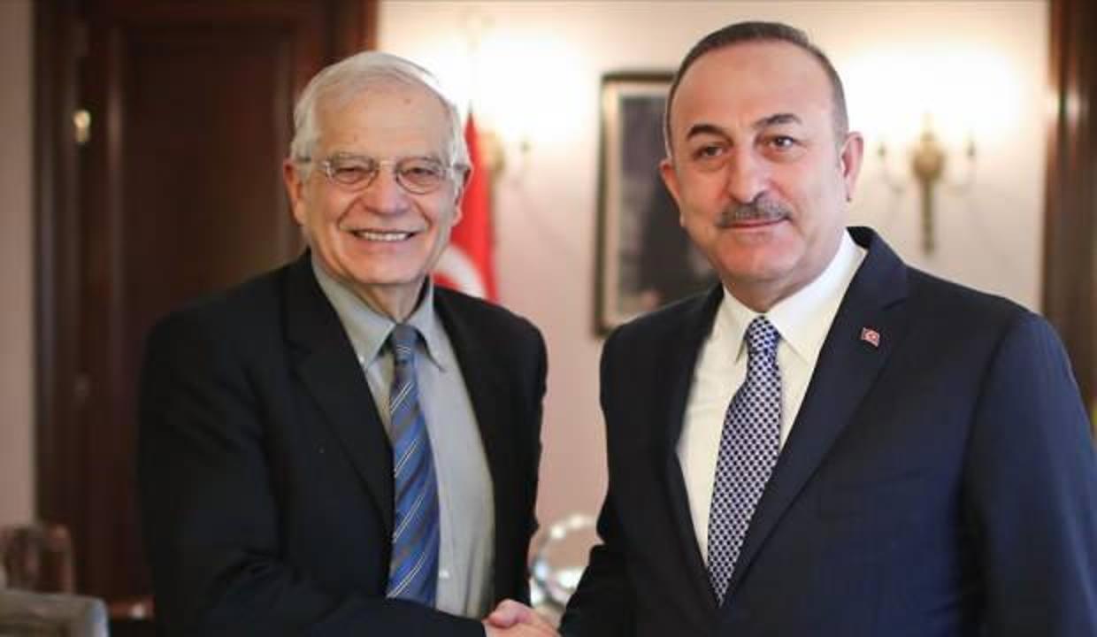"""AB 'den """"Türkiye ile yakın iş birliği"""" mesajı"""