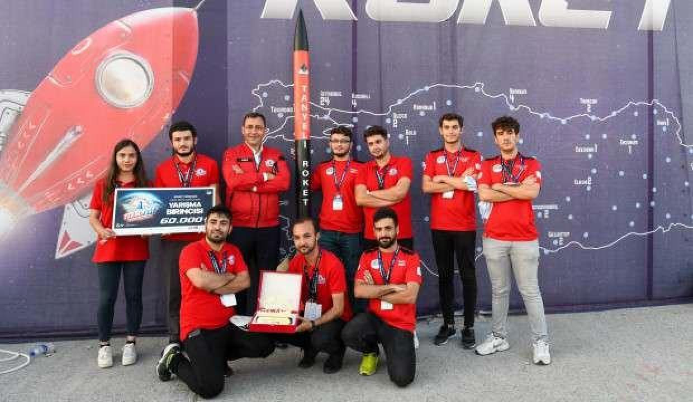 Roket Yarışması'nın kazananları açıklandı