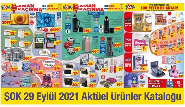 29 Eylül ŞOK Aktüel Kataloğu! Ay sonuna özelelektronik, züccaciye, mobilya ürünlerinde...