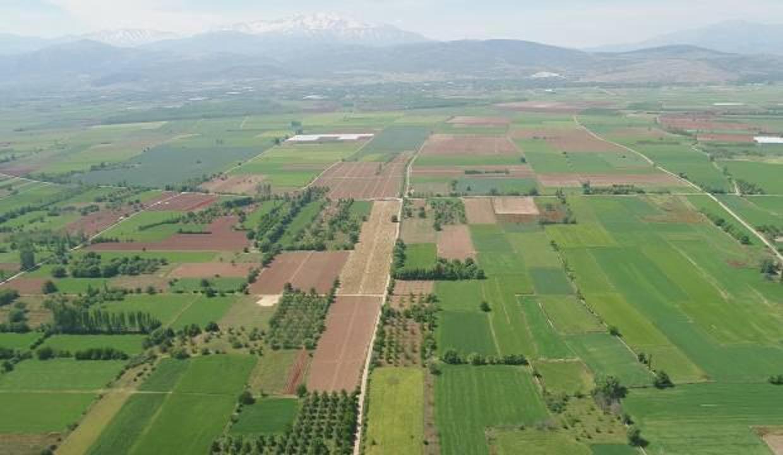 Beş ilde arazi toplulaştırma yapılacak