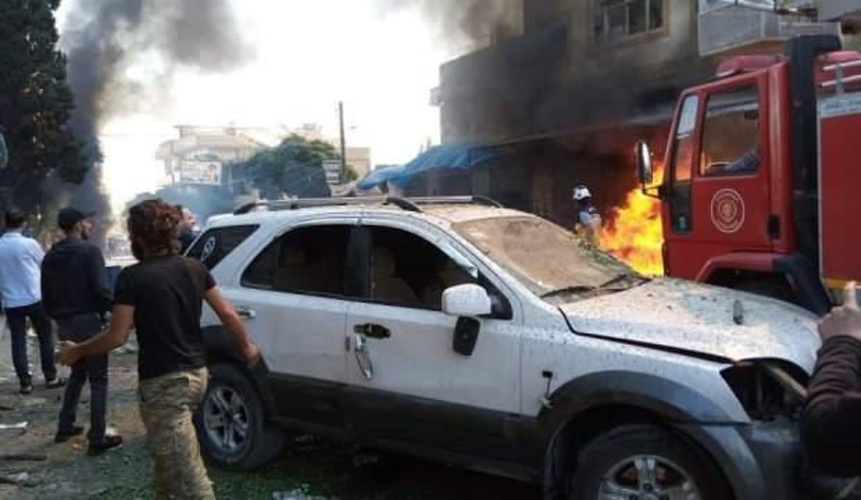 Fırat Kalkanı bölgesinde terör saldırısı: 2 sivil öldü