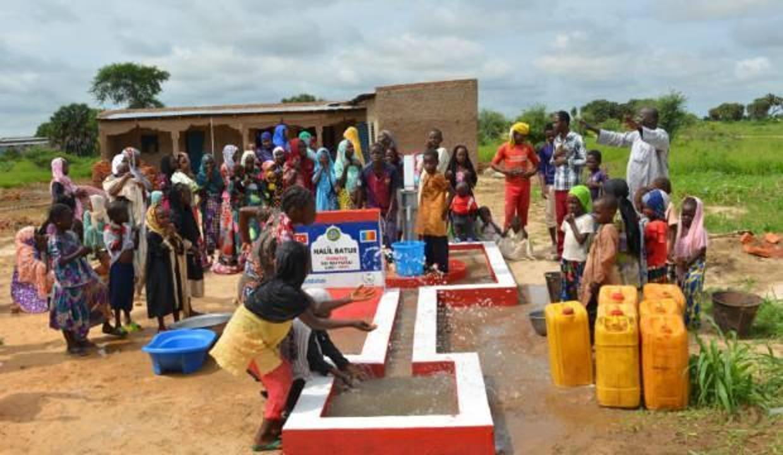 Sadakataşı bir yılda 1100 su kuyusu açılışı gerçekleştirdi
