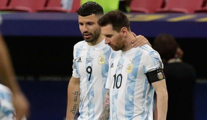 Agüero: Messi'yi iyi görmedim, çok hastaydı